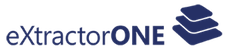 eXtractorONE Logo